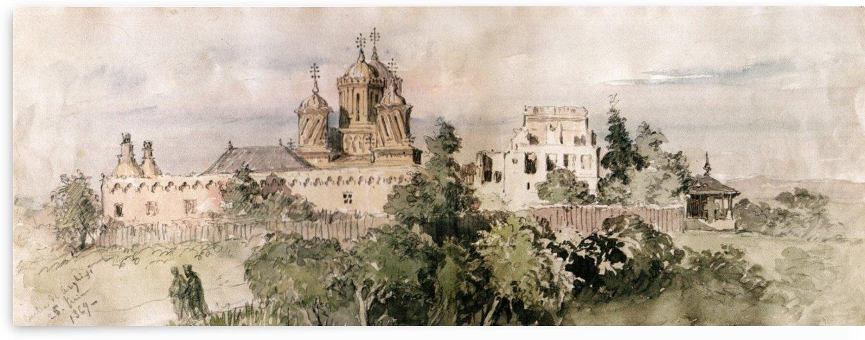 Curtea de Arges by Amadeo Preziosi