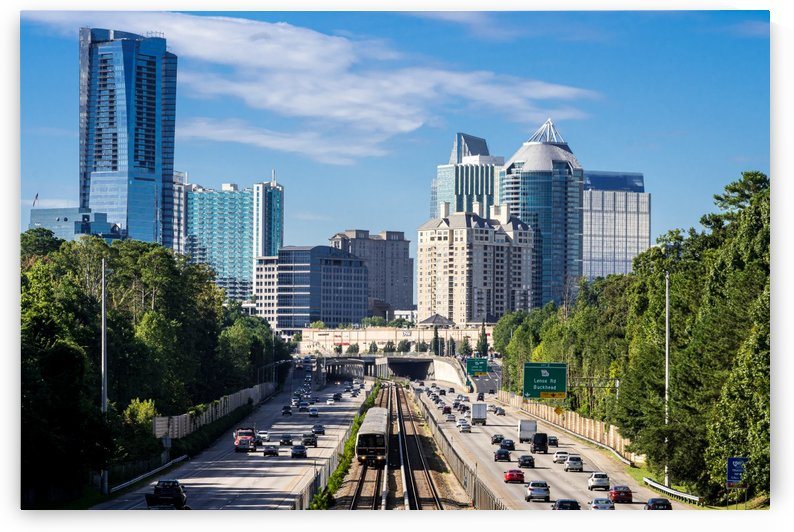 Buckhead Skyline   Atlanta GA 7326 by @ThePhotourist
