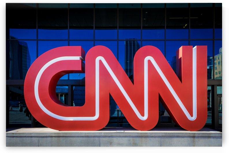 CNN Center Sign   Atlanta GA 2086 by The Photourist - Sanjeev Singhal