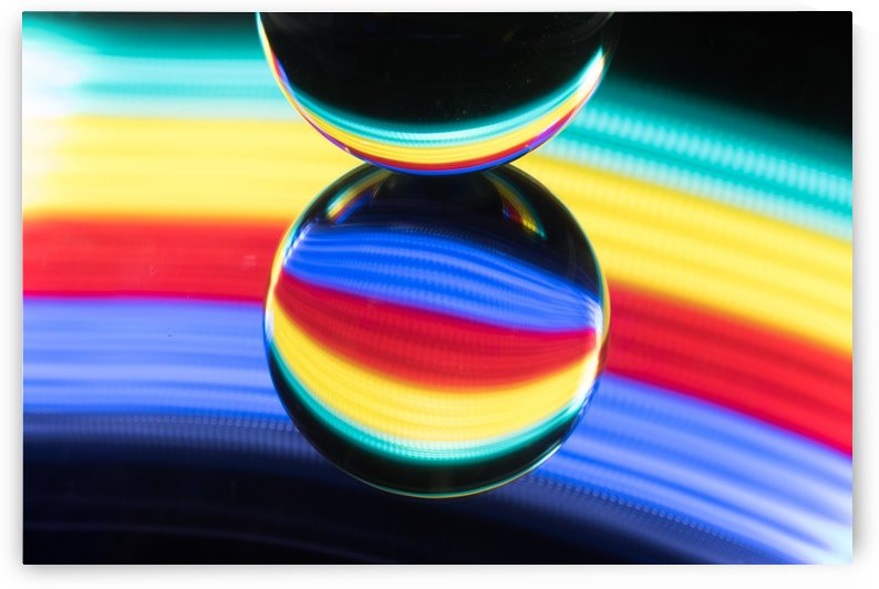 Rainbow crystal ball by RezieMart