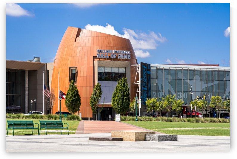 College Football Hall of Fame   Atlanta GA 8605 by The Photourist - Sanjeev Singhal