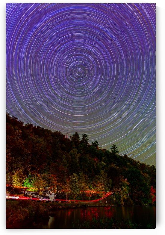 Autumn star trails by RezieMart