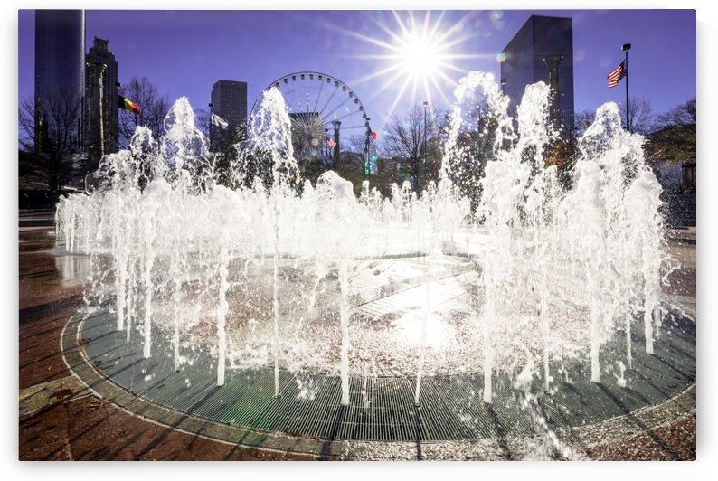 Fountain of Rings at Centennial Olympic Park Atlanta 3422 by @ThePhotourist