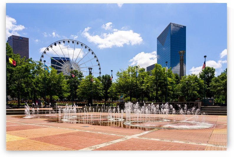 Fountain of Rings at Centennial Olympic Park Atlanta 8584 by @ThePhotourist