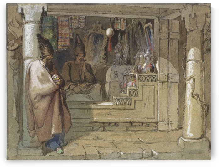 The Spice Sellers by Amadeo Preziosi
