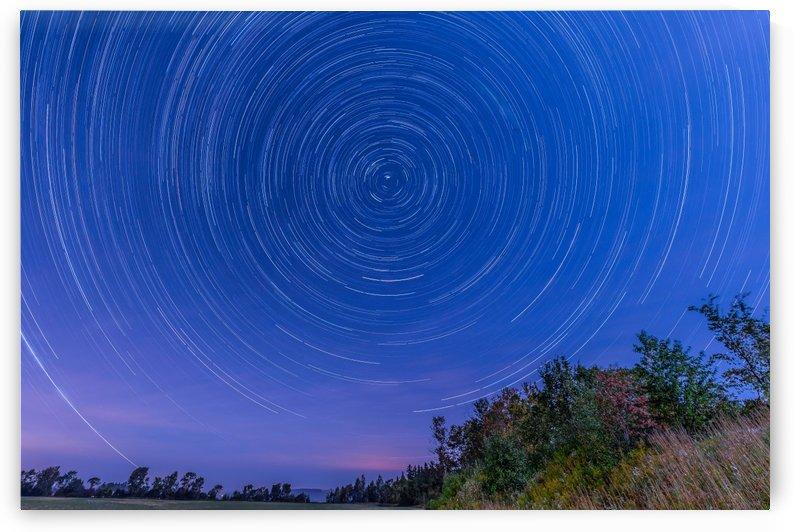 Lapatrie star trails by RezieMart