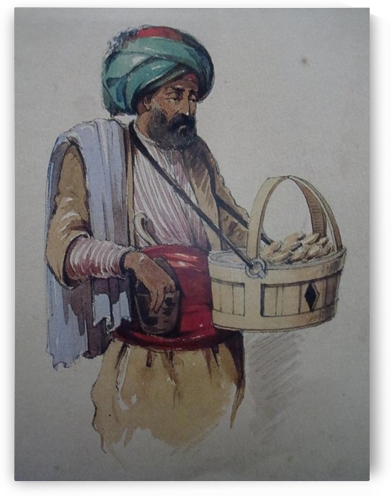 Cookie Seller by Amadeo Preziosi