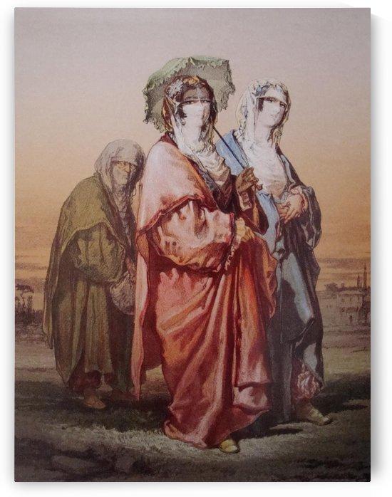 Ottoman women by Amadeo Preziosi