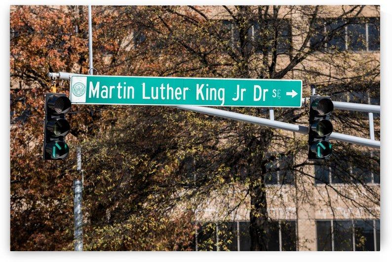 Martin Luther King Jr Blvd Sign   Atlanta GA 1715 by @ThePhotourist