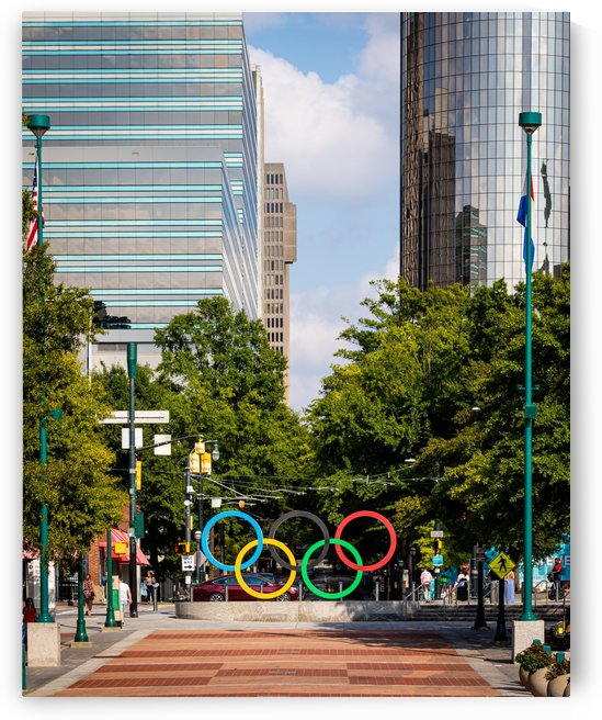 Olympic Rings   The Spectacular at Centennial Park Atlanta 7578 by @ThePhotourist