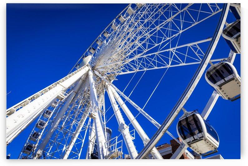 Skyview Atlanta Ferris Wheel Centennial Park 1890 by The Photourist - Sanjeev Singhal