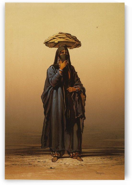 Bread seller by Amadeo Preziosi