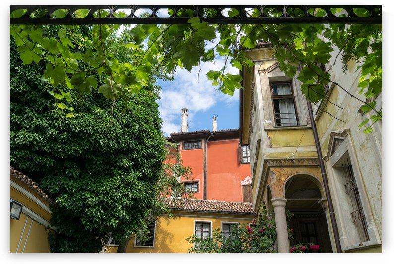 Old Town Plovdiv - Splendid Revival Houses Framed by Grapevine Pergola by GeorgiaM