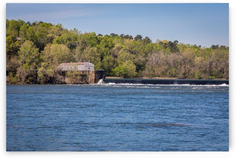 Augusta Canal Headgates at Savannah Rapids Park 7541 by The Photourist - Sanjeev Singhal