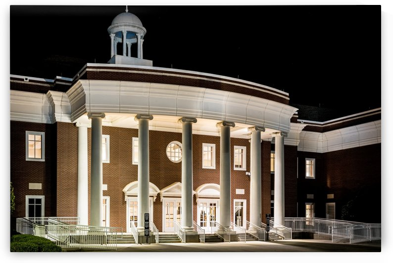 Justice Center at Night in Columbia County Evans GA 9915 by @ThePhotourist