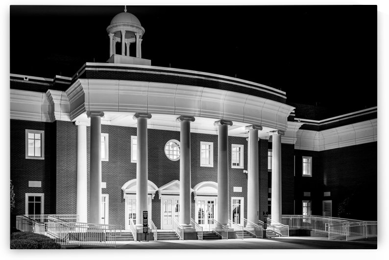 Justice Center at Night in Columbia County Evans GA 9915b by @ThePhotourist