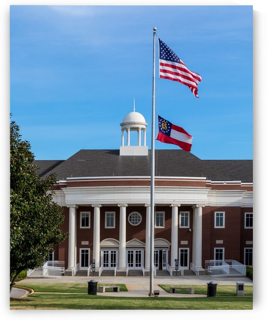 Justice Center in Columbia County Evans GA 6882 by @ThePhotourist