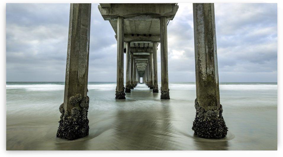 Scripps Pier by Sebastian Dietl