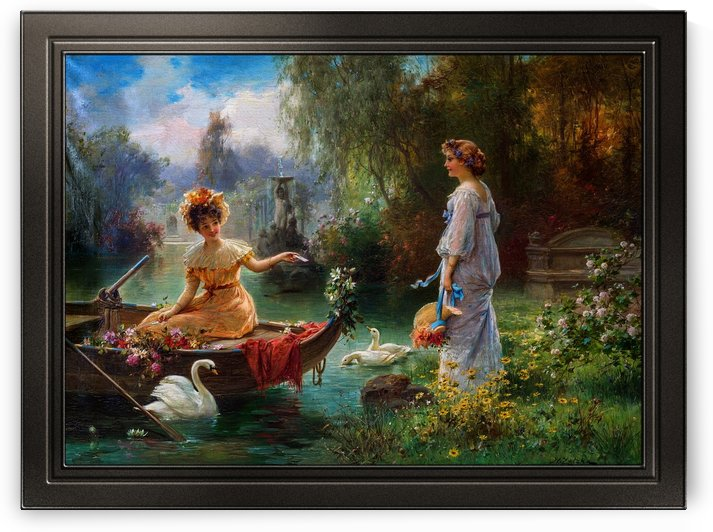 Mail from Across the Pond by Hans Zatzka by xzendor7