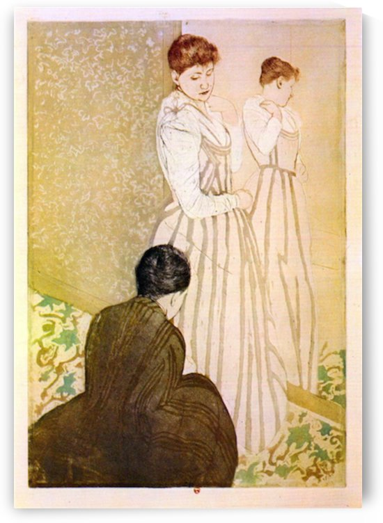 Fitting by Cassatt by Cassatt