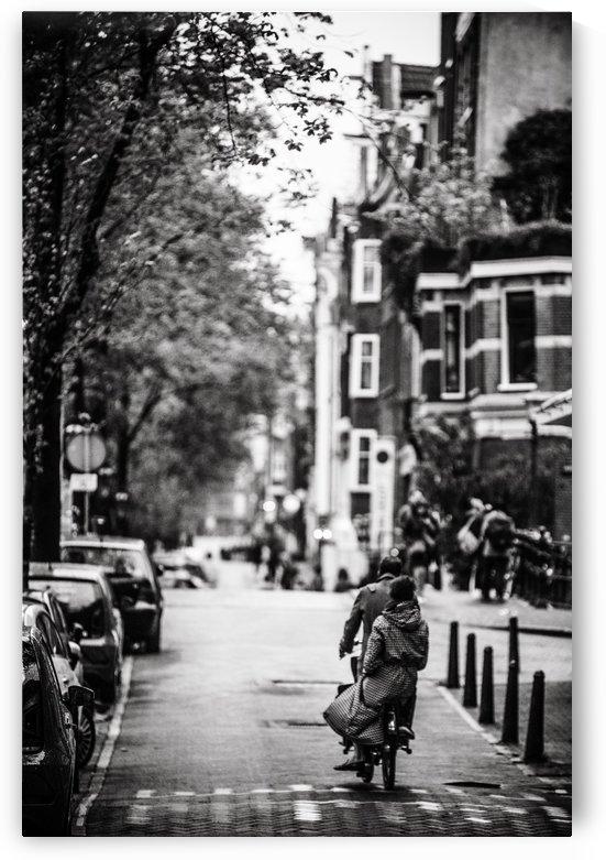Raining in Amsterdam by Sebastian Dietl
