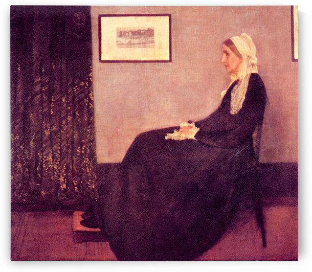 Whistlers Mother by James Abbot McNeill Whistler by James Abbot McNeill Whistler