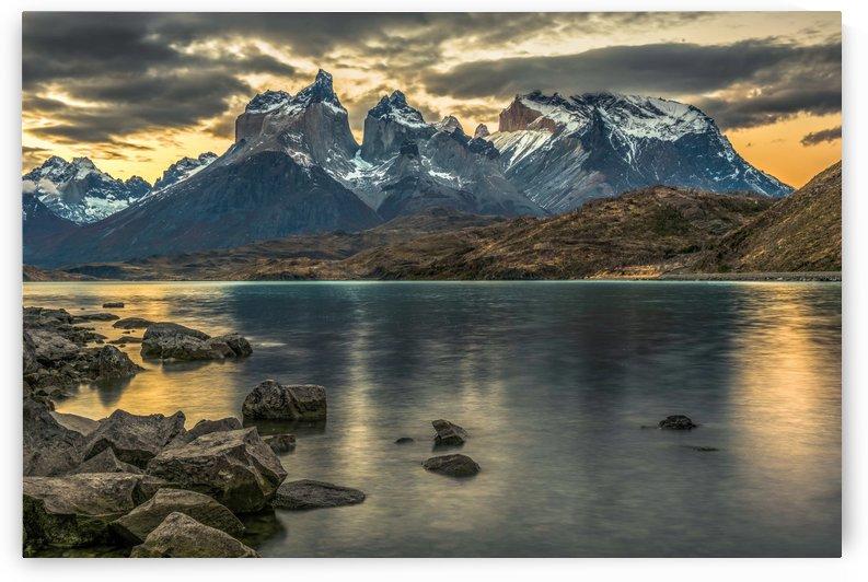 Mountain Sunset by Bob Kofman