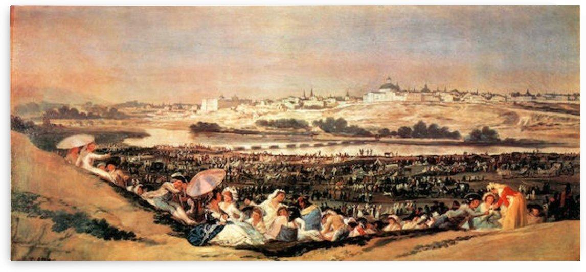 Folk Festival at the San Isidro-Day by Goya by Goya
