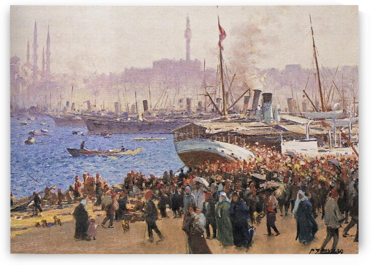 Istanbul by Fausto Zonaro