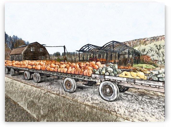 Harvest Flatbed by Leslie Montgomery