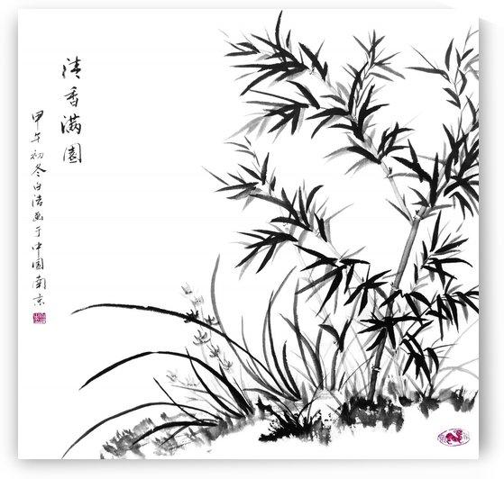Bamboo Impression by Birgit Moldenhauer