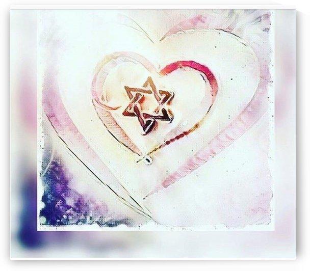 Hearts And Jewish Stars by Jenn Rosner