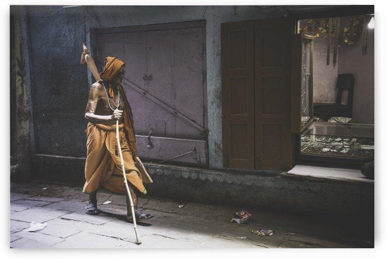 Varanasi Window - Walker by Sebastian Dietl