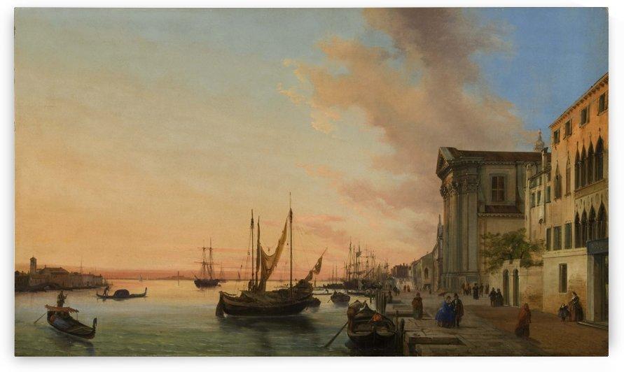 Venice Bay by Giuseppe Canella