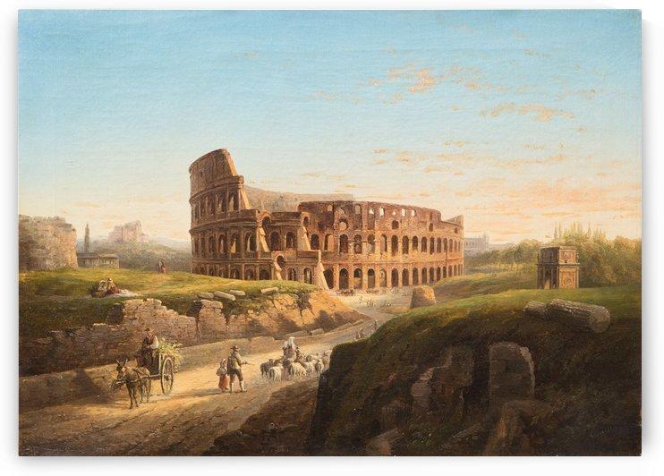 Vista del Coliseo by Giuseppe Canella