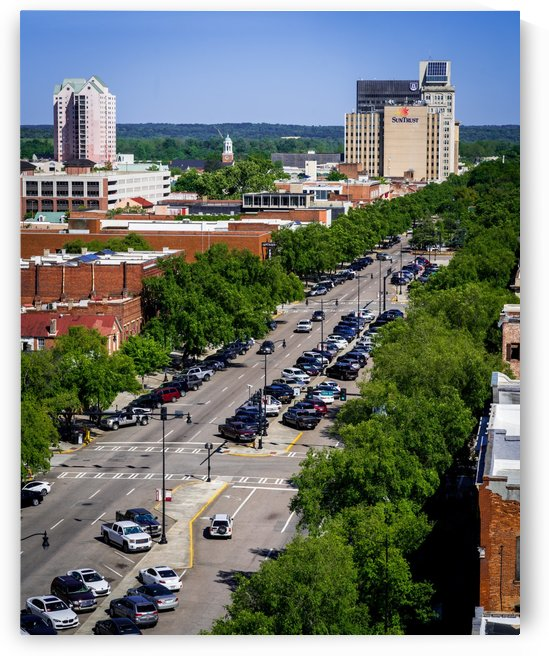 Broad Street Downtown Augusta GA Aerial View 6411 by @ThePhotourist