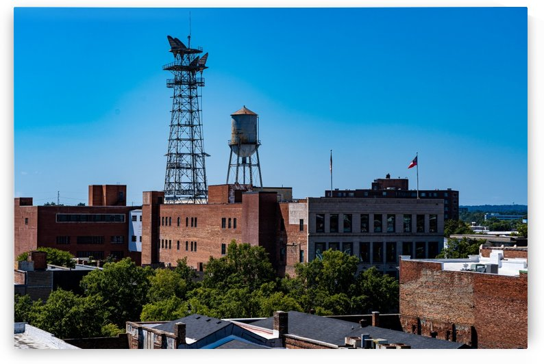 Downtown Augusta GA Aerial View 3312 by @ThePhotourist