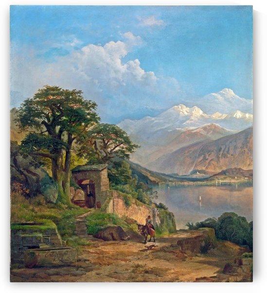 Lake Como by Giuseppe Canella