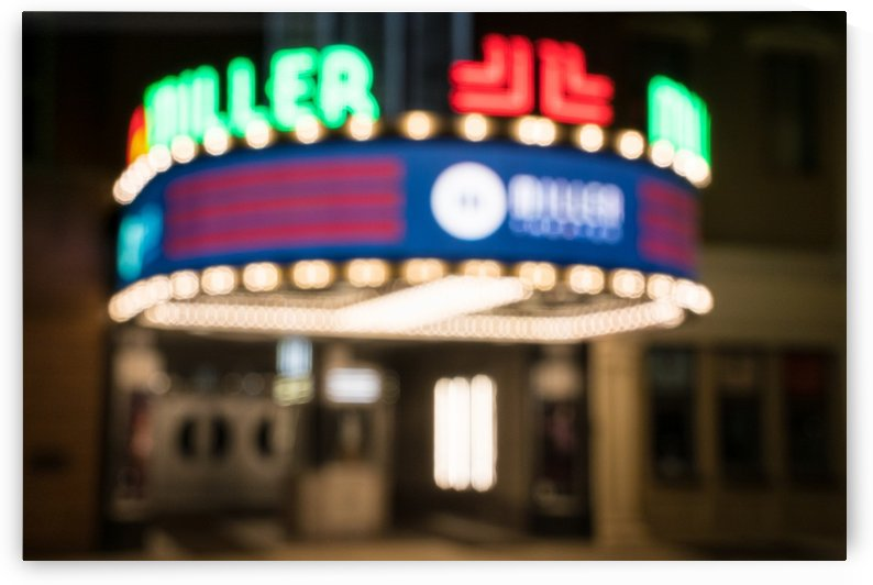 Miller Theater at Night   Augusta GA 8876 by The Photourist - Sanjeev Singhal