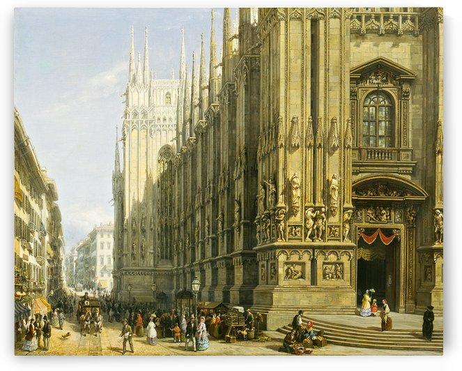 Il Duomo di Milano by Giuseppe Canella