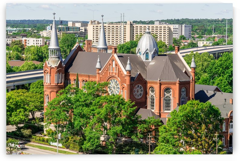 Sacred Heart Cultural Center Aerial View  Augusta GA 6730 by @ThePhotourist