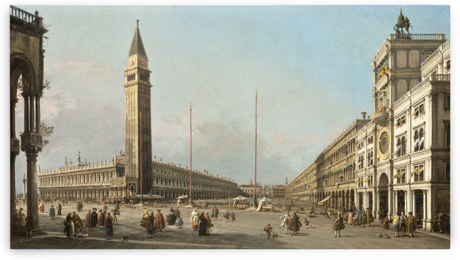 Piazza di San Marco by Giuseppe Canella