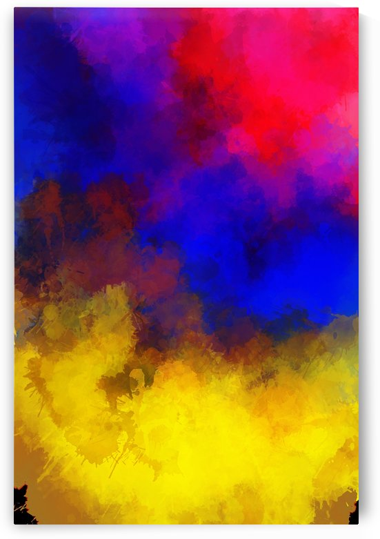 Primary Red Yellow Blue by Jeremy Lyman