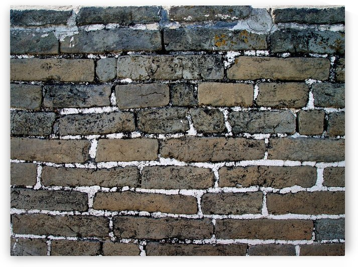 Bricks Along the Great Wall by Robert Knight