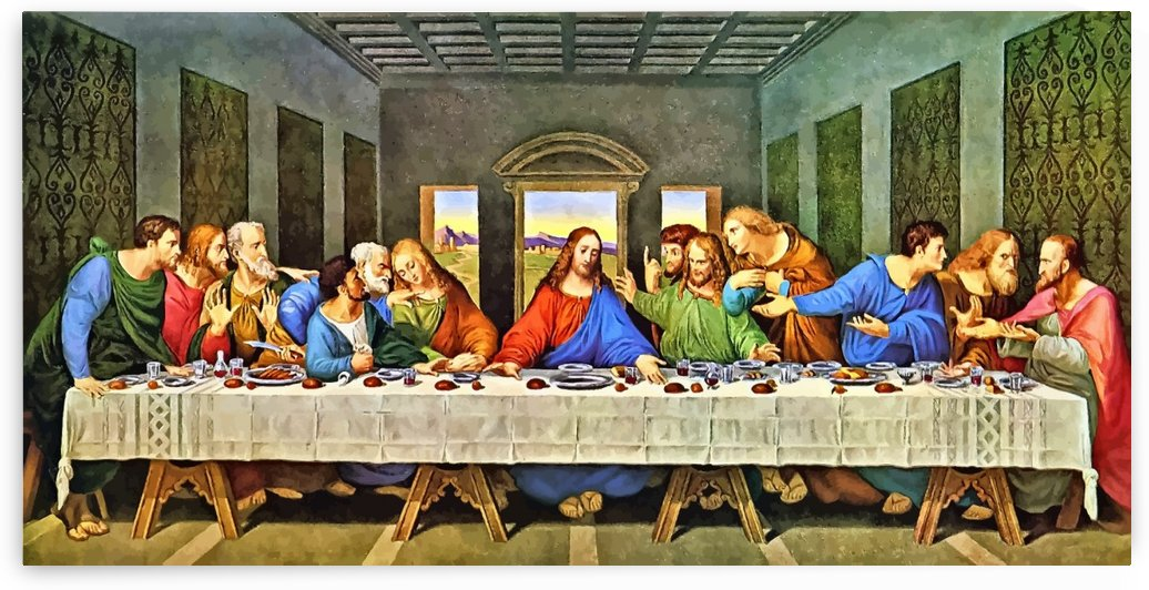 Last Supper  by Damian Crown