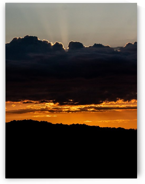Clouds and Sunset by Raquel Creative