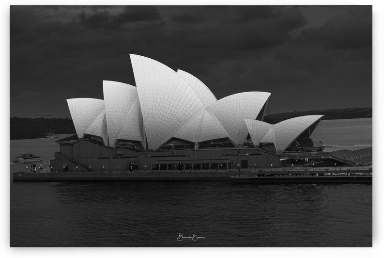B&W - Opera House by BBCLICKZ - Bhaumik Bumia Photography