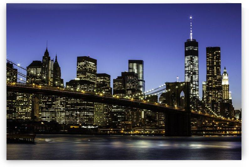 NY City Lights  by Sebastian Dietl