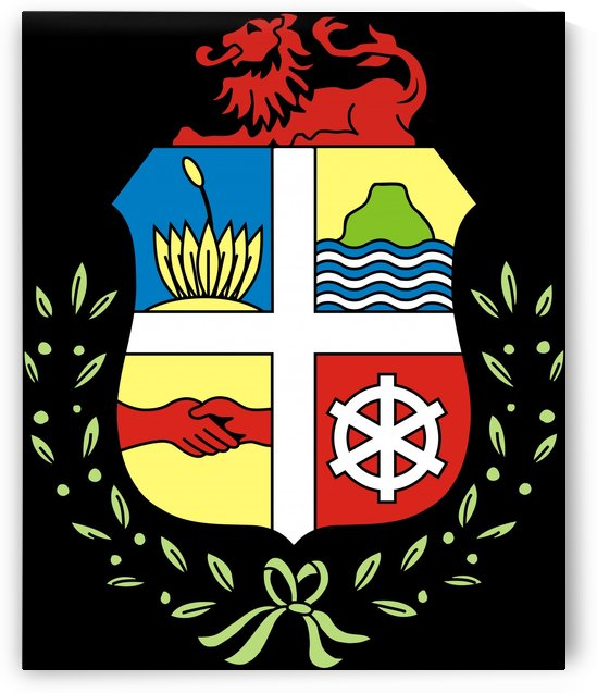 Aruba Coat of Arms by Fun With Flags