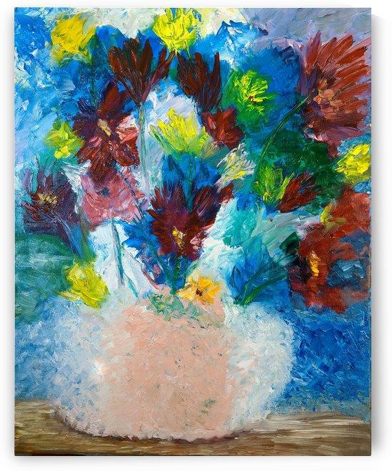 Spring Flowers  by Aurelia Schanzenbacher Sisters Fine Arts